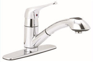 Single Handle Kitchen Pull-Out Faucet GLB-153C