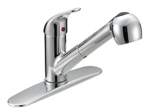 Single Handle Kitchen Pull-Out Faucet GLB-150C