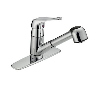 Single Handle Kitchen Pull-Out Faucet GLC-150C