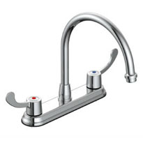 Hi-rise Two Handle Kitchen Faucet GLC-250CB
